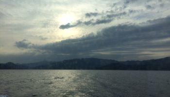 お隣四国の海