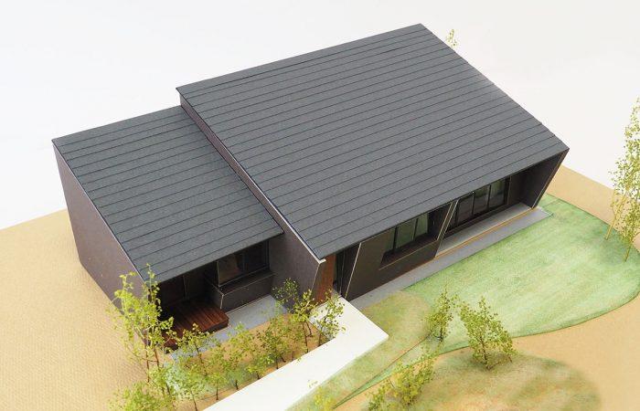 ふたつ屋根の家