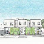 住宅併設型店舗と地域の案内所
