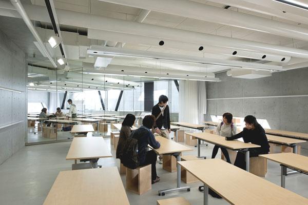 長岡造形大学第3アトリエ棟